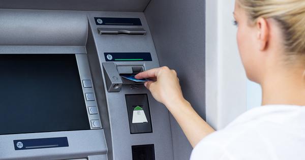 Bankomater kan vara mål för skimming av magnetremsan