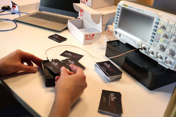 Varje SkimSafe-korts kvalitet kontrolleras enskilt.